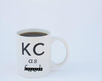KCAF Coffee Mug Kansas City Ceramic