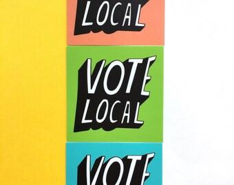 Vote Local Sticker Pack