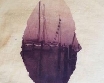 Sailboat Vignette TShirt