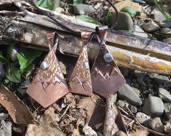 Copper Mountain pendant