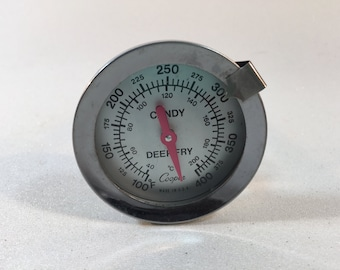 Vintage Cooper Candy/Deep Fry Thermometer