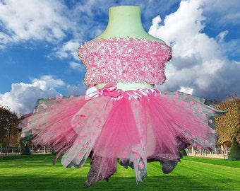 Pink Hearts Specialty Tutu Skirt