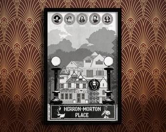 Herron-Morton Neighborhood Poster
