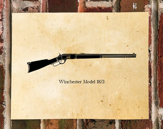KillerBeeMoto: Limited Print Winchester Model 1873 Cowboy Rifle
