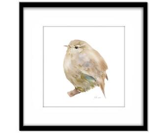 Printable Art, Black Bird Instant Download, Fat Young Bird Printable Poster, Bird Art, Wall Art