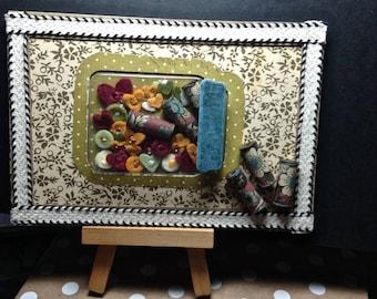 Art Card, Mason Jar, Home Decor