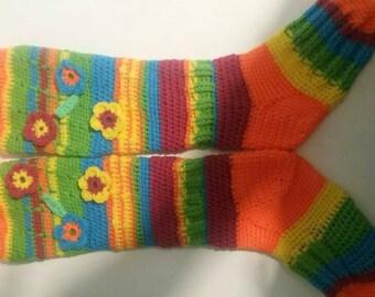 Women's Rainbow Socks