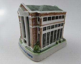 Louisville Stoneware Liberty National Bank of Indiana Building Bank