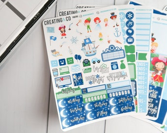 Neverland Weekly Planner Kit for No-White Space and White Space Planners - FK07