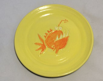 Yellow Angler Fish Cheese Plate