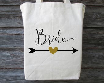 Brides Tote, Bachelorette Party Tote, Wedding Tote Bag, Bride Tribe Tote, Cotton Canvas Tote, Wedding Shower Tote, Cotton Canvas Tote