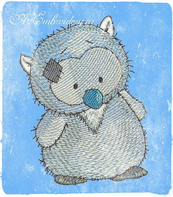 Owl Wise Machine Embroidery Design For A Baby