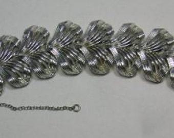 Vintage Coro Silver Tone Bracelet