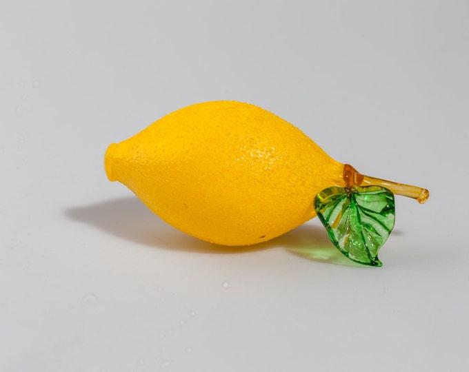 Lemon Sculpture