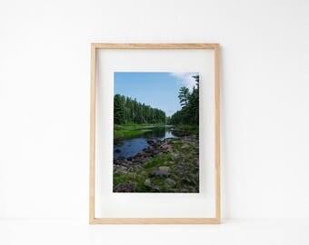 Nature Photography Prints, Minnesota Wall Art, Boundary Waters, 8x10 Print Art, 11x14 Art Print, Fine Art Photography, Landscape Photo