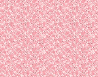 Tiny Petals Pink 03-2 by Blend Fabrics Cotton Fabric Yardage