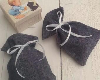 Jean Favor Bag - Cotton Favour Bag - Denim Favor Bag - Wedding Favor - Country Wedding Favors - Western Wedding Favor Bag - Set of 40
