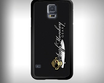 Samsung Galaxy S5 phone case with Full color custom graphics -  Carbon Fiber