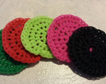 Set of 5 Scrubbies