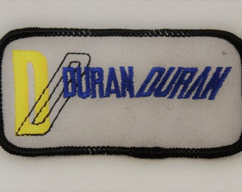 Duran Duran Band Patch