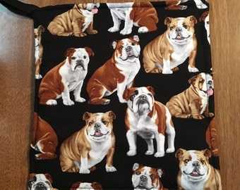 Bulldog Pot Holder Hot Pad