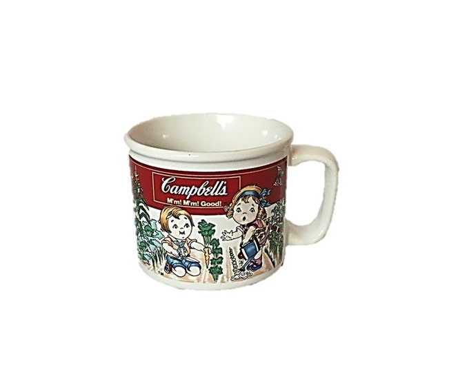 Vintage Campbell Soup Mug by Westwood - Rare Vintage Campbell's Kids Advertising,