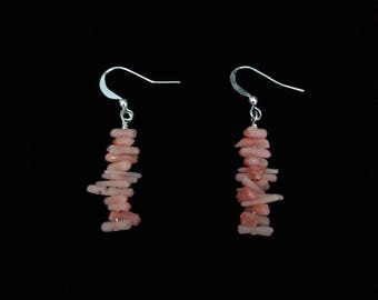 Coral Chip Earrings E6151759