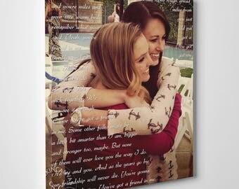 Best Friend Gift Idea, Maid of Honor Proposal, Will You Be My Maid of Honor, Sister Maid of Honor, MOH Gift RockinCanvas