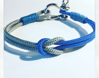 Men's/women's nautical rope bracelet