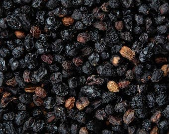 Elderberries | Organic Dried Herb | Sambucus Nigra