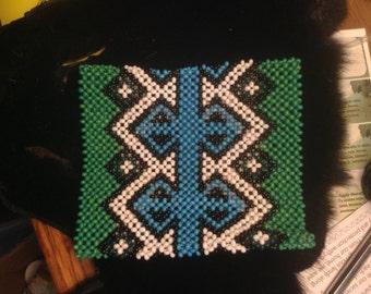Yawanawa beaded ceremony bracelet