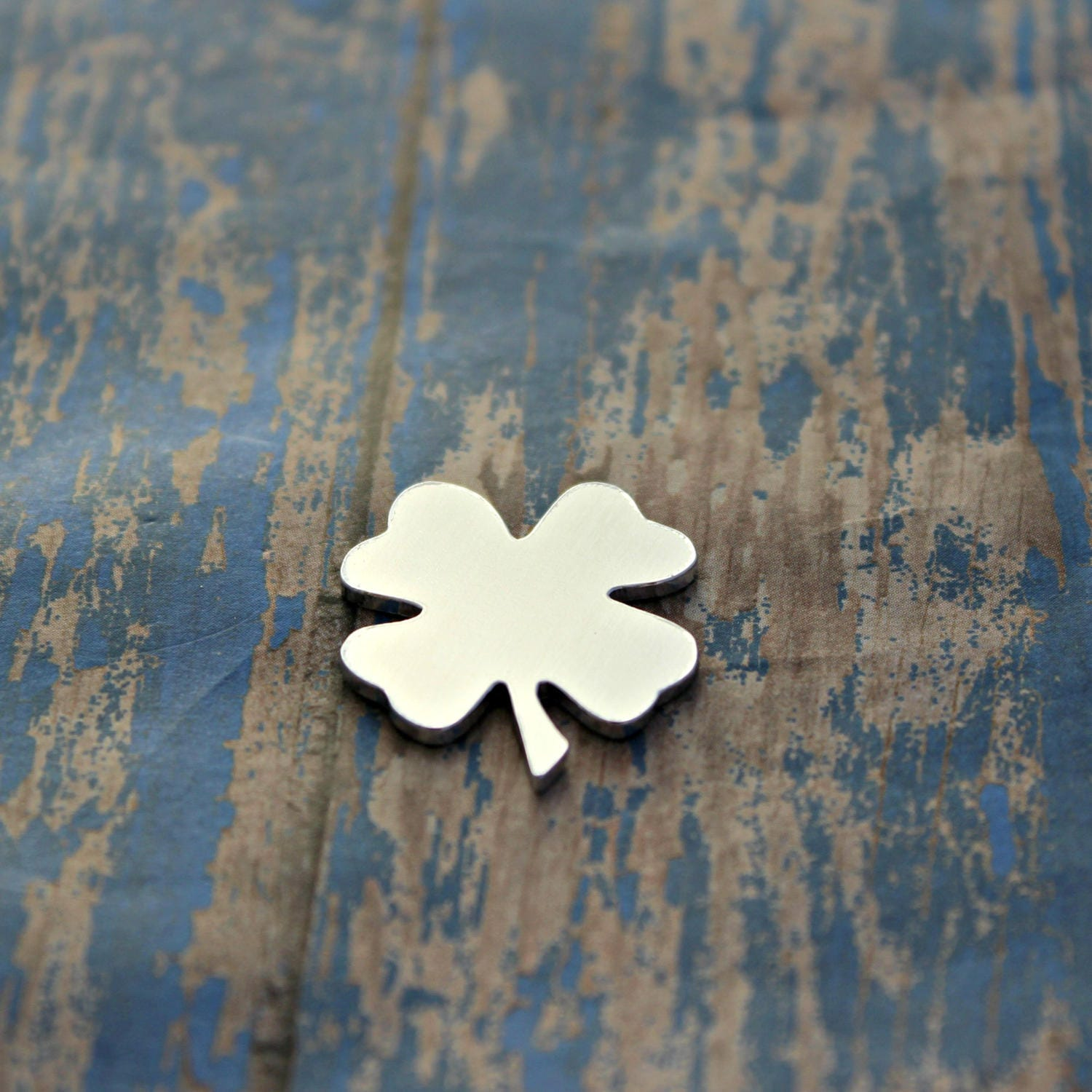 Aluminum 1 Quot 4 Leaf Clover Stamping Blanks Qty 1 From
