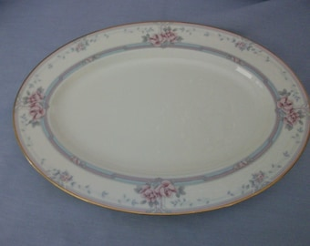 "Noritake ""Magnificence"" Bone China 14"" Platter, Noritake, Made in Japan, China, Serving Platter, Platters, Dinnerware"