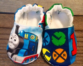 Thomas the train baby boy booties, Thomas the train baby shoes