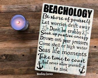 Beach signs, Beach quote sign, Wood beach house sign, Rustic home decor, Beach house decor, Beach house signs, Beach home decor, Wood sign