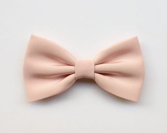 Rose quartz bow tie for men,pink rose bow tie for the groom,groomsmen,summer wedding inspiration pink accessories for ceremony elegant style