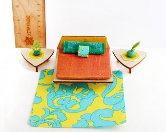 Deluxe Textile Set for 1:24 scale dollhouse - Sunset Hotel Collection