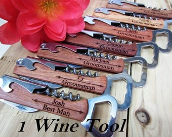 Wedding Party Favor - Groomsmen Gift - Free Engraving