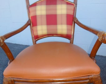 Four Original Palecek Dining Room Chairs/Vintage Palecek Bamboo Chairs/Vintage Dining Room Chairs/Vintage Palecek Furniture/Palecek/Chairs