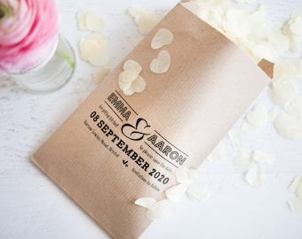 10 Save The Date Paper Goodie Bags