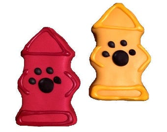 Gourmet Dog Treats: Homemade Fire Hydrant Dog Cookies
