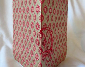 Gold Pink Pod - Handstitched pamphlet journal