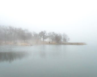 Cool foggy morning, Fine Art Photography by Pitts Photography