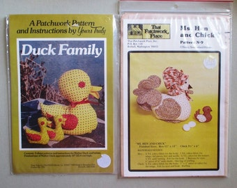 chicken and duck sewing patterns