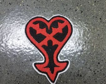 Kingdom Hearts Heartless Symbol Sew on Patch