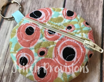 Quilted Earbud Pouch