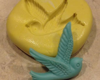 Flying Bird Silcione Mold