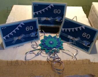 60th Birthday Tea Party Invitations