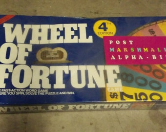 Sealed Wheel Of Fortune 4th edition