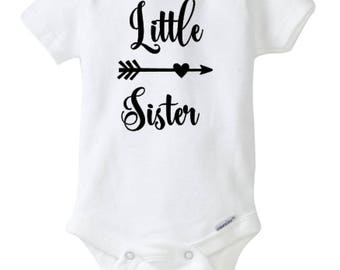 Sister Onesie Set, Big Sister Little Sister Onesie set